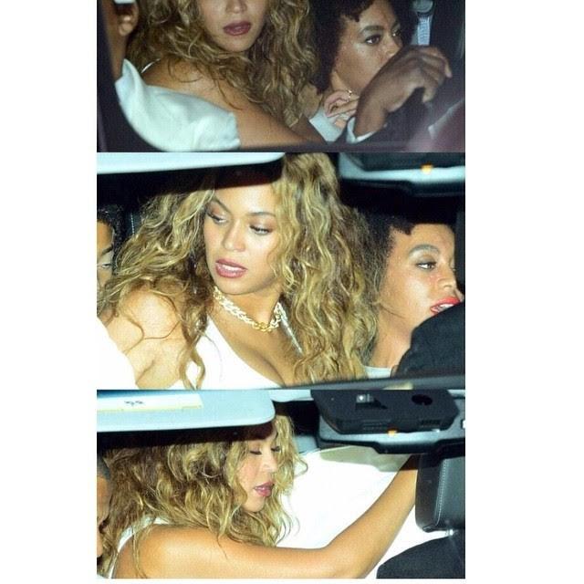 Beyoncé ampara a irmã  (Foto: Reprodução)