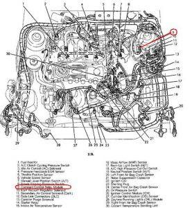 1992 Mercury Topaz Fuse Box Diagram