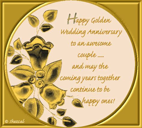 Happy Golden Wedding Anniversary