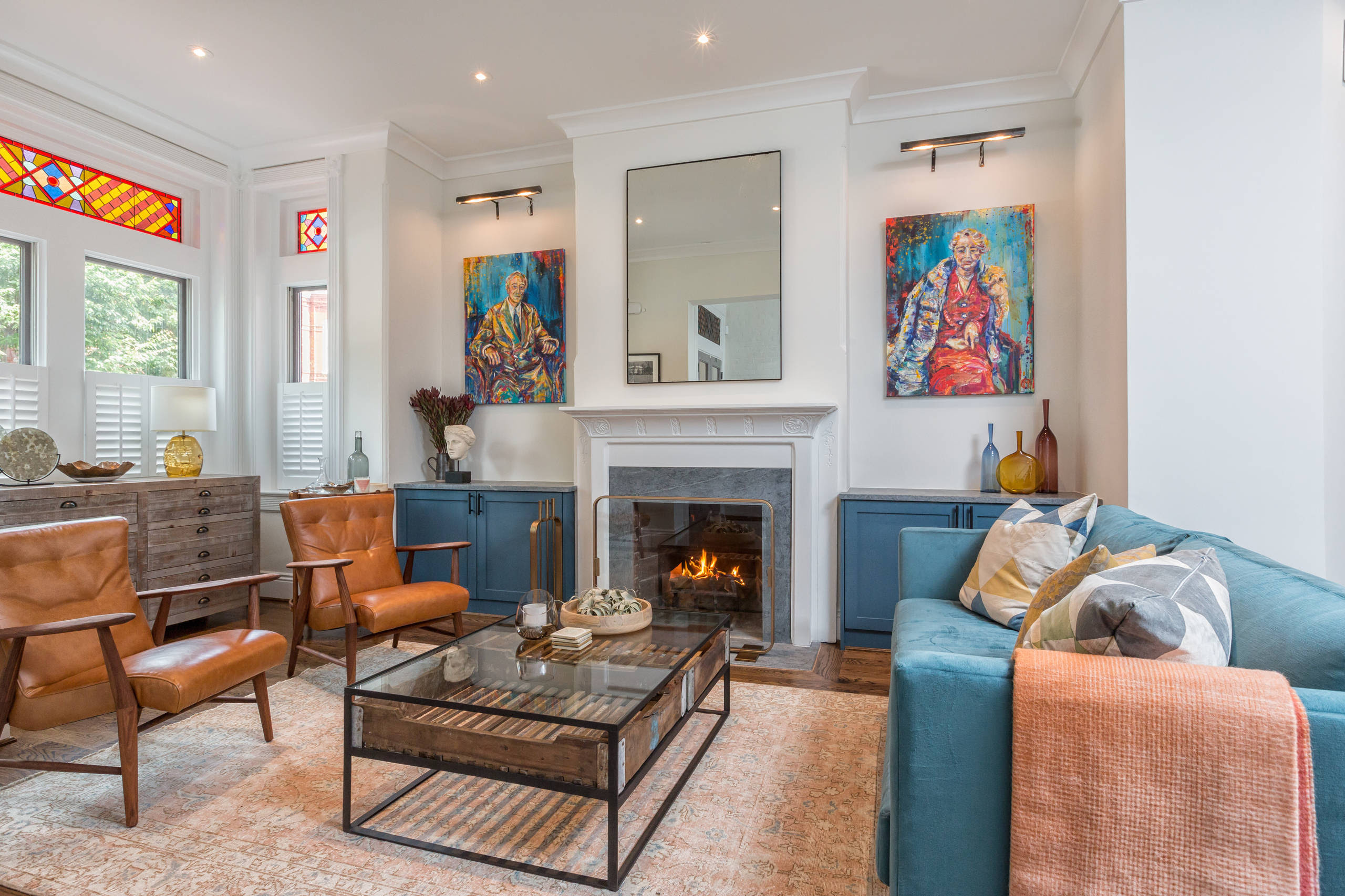 17 Comfy Eclectic Living Room Designs That Are All About ...