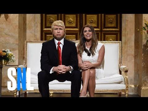 """המתמודד הרפבוליקני המוביל דונלד טראמפ ינחה את """"סאטרדיי נייט לייב"""""""