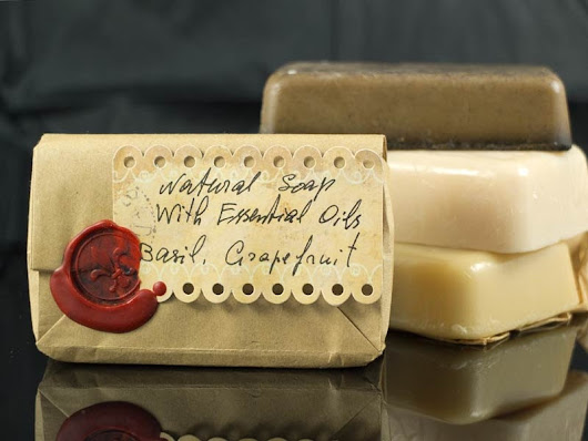Natural Soap Basil | Grapefruit - essential oils