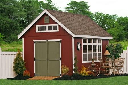 shedlast: Amish garden sheds