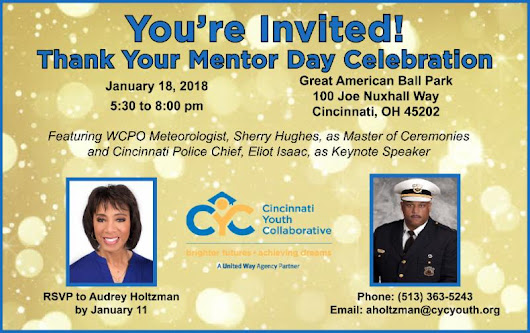 Mentor Minute: You're Invited to CYC's Thank Your Mentor Day Celebration!