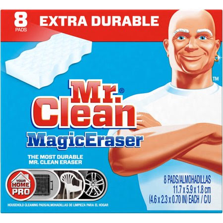 Mr. Clean Magic Eraser Cleaning Pads, 8 count