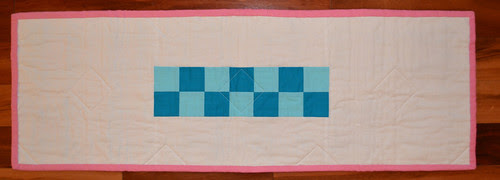 For the Love of Solids Swap - table runner back from {Safeih}