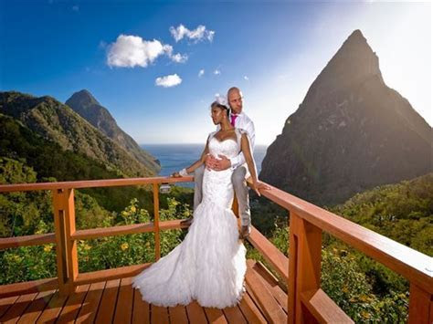 Ladera Resort, St Lucia, Caribbean Wedding   Tropical Sky
