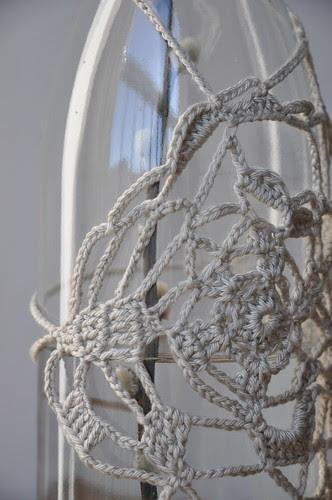 free style crochet :: bottle cosy