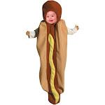 Halloween Baby Morris Apparel Hotdog Full Body Costume, Adult Unisex, MultiColored