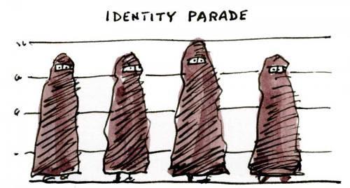Burqa Cartoon