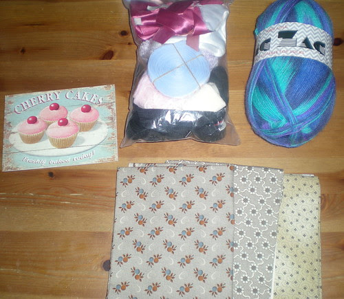 Lovely Package from Andrea!