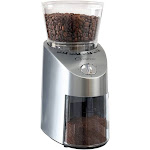 Capresso Die Cast Infinity Burr Grinder - Stainless Steel Finish