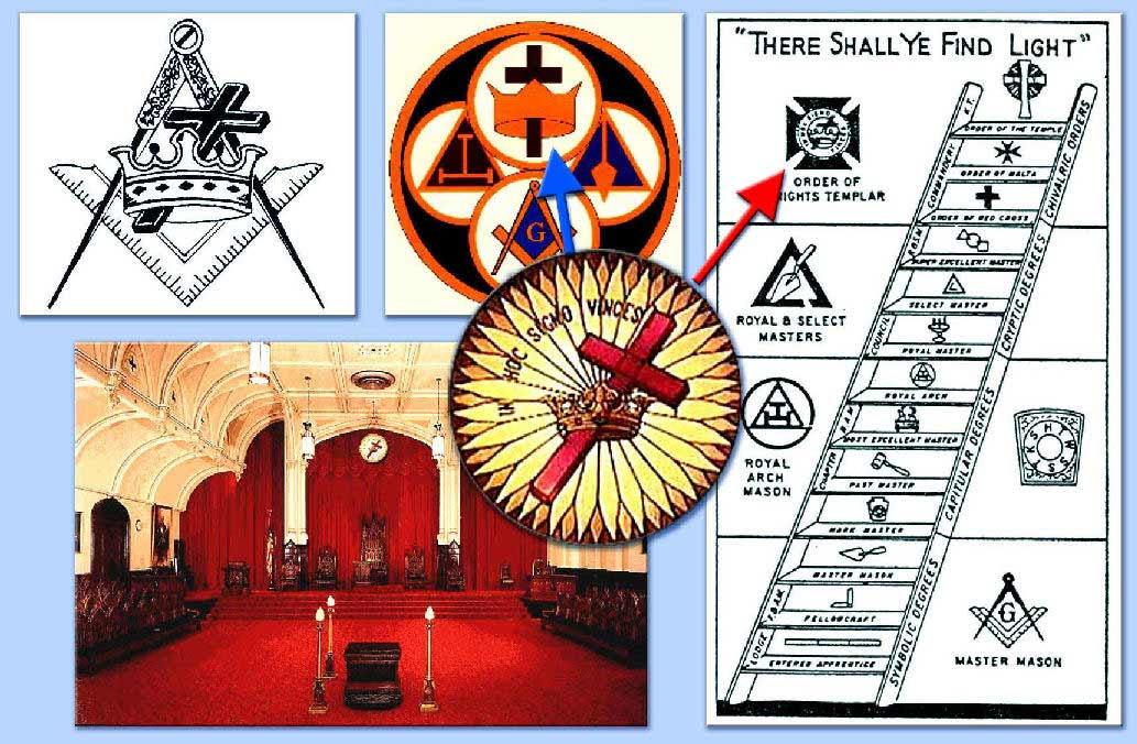 raccolta di simboli massonici templarisitici