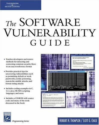 [PDF] The Software Vulnerability Guide Free Download