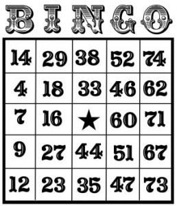 Bingo cards online