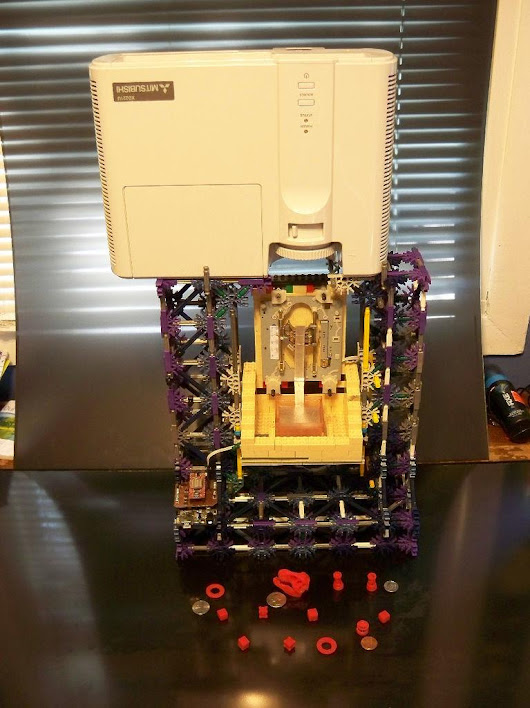 Build Your Own Chimera DLP SLA 3D Printer for Only $60, Using Legos & K'NEX