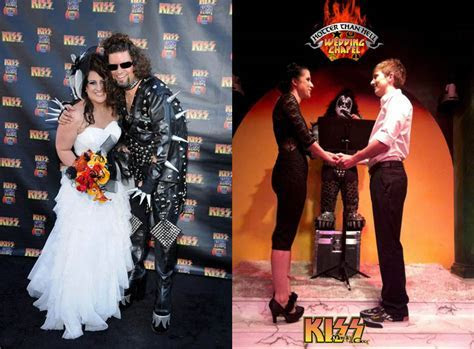 Get Married at the KISS ?Hotter than Hell? Wedding Chapel