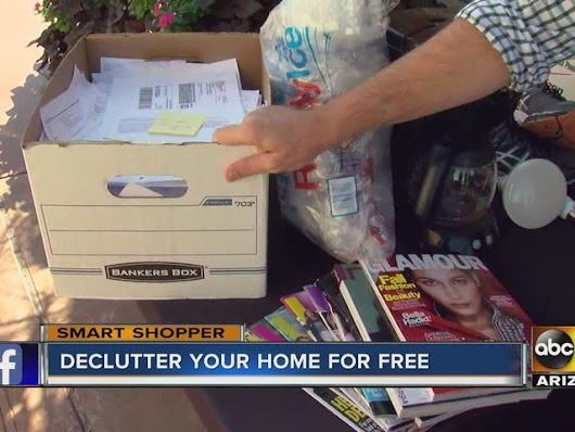 Declutter your home...for free! Free shredding, recycling services offered