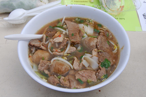 Bowl Of Thai Noodle Soup