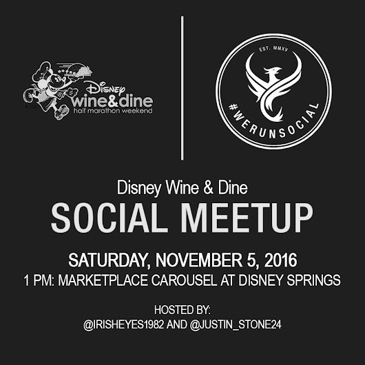 Wine And Dine Half Weekend: #WeRunSocial Meetup, Course Maps & Costume Sneak Peek
