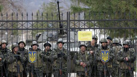 Ukraina, Crưm, Nga, căn cứ