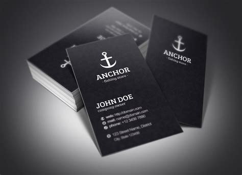 Anchor Business Cards ~ Business Card Templates ~ Creative