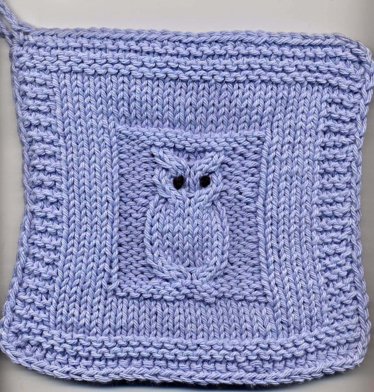 Photo of owl potholder