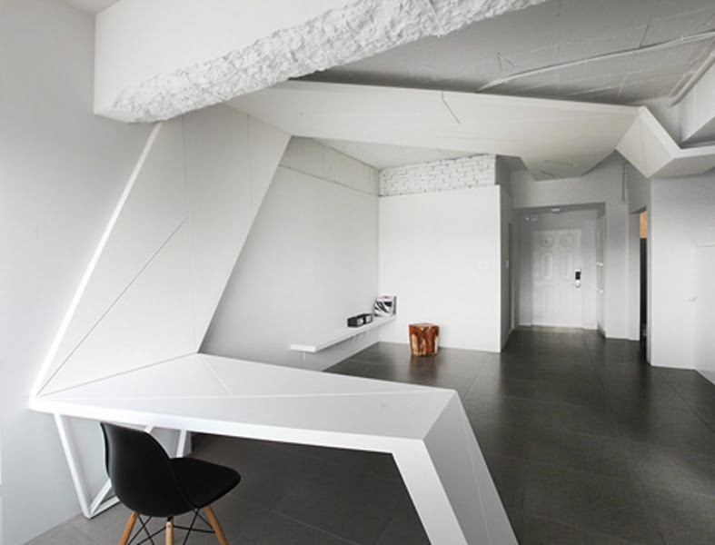 Futuristic Apartment With Wings In Its Design  DigsDigs