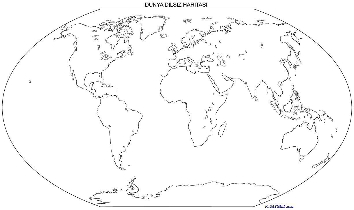 Dünya Dilsiz Haritaları