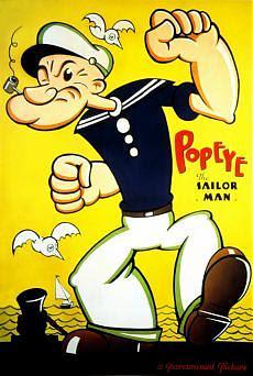 Braccio di ferro il marinaio Ottant'anni di spinaci