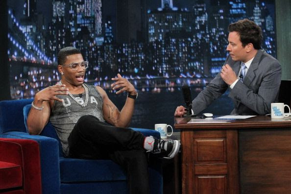Late Night with Jimmy Fallon (July 2012), Nelly