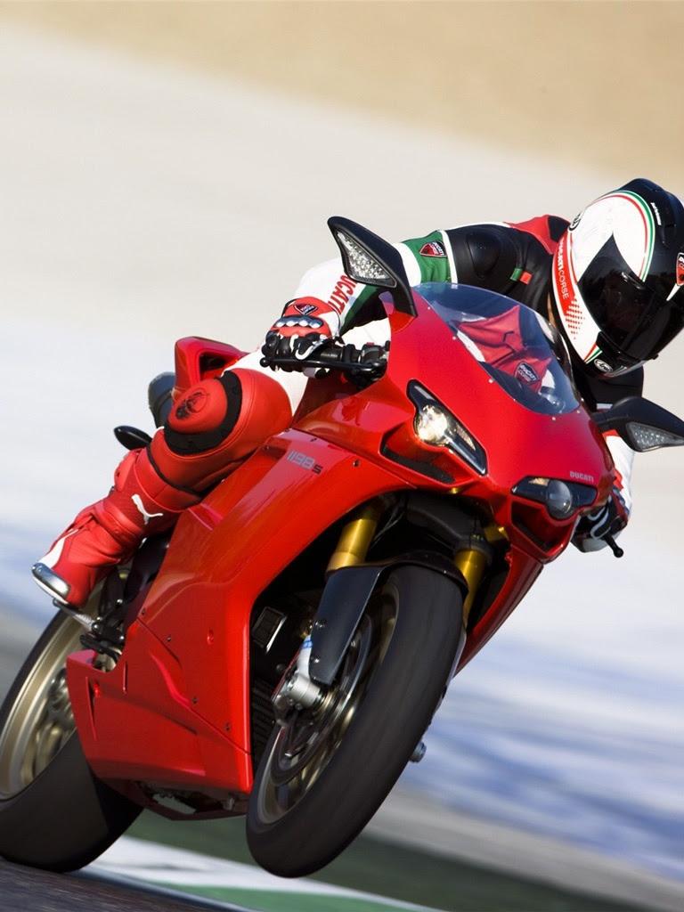 Motorbikes - Ducati 1198S Racing Sport Bike - iPad iPhone ...