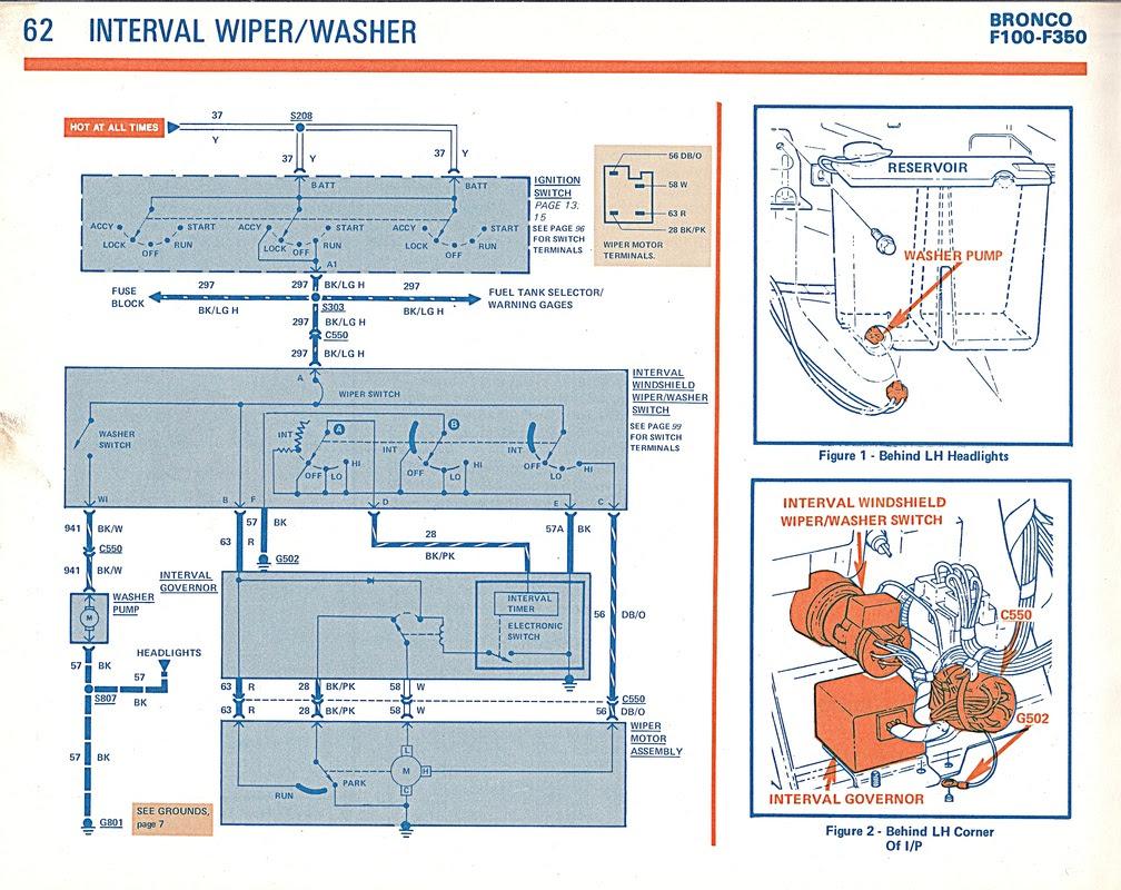 Windshield Wiper/Washer - Gary's Garagemahal (the Bullnose ...