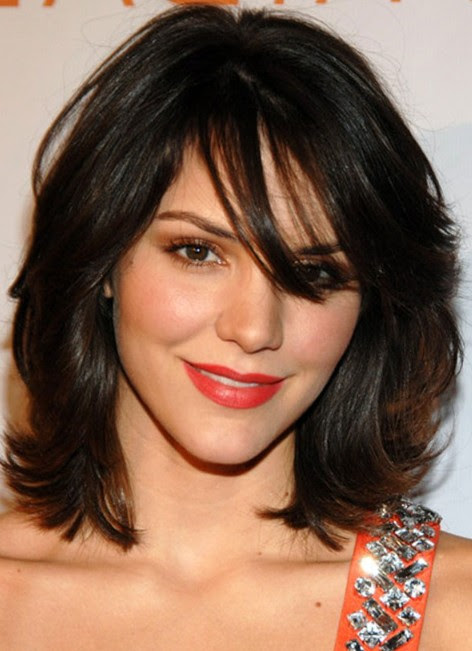 Layered Hair With Bangs | Life\'s