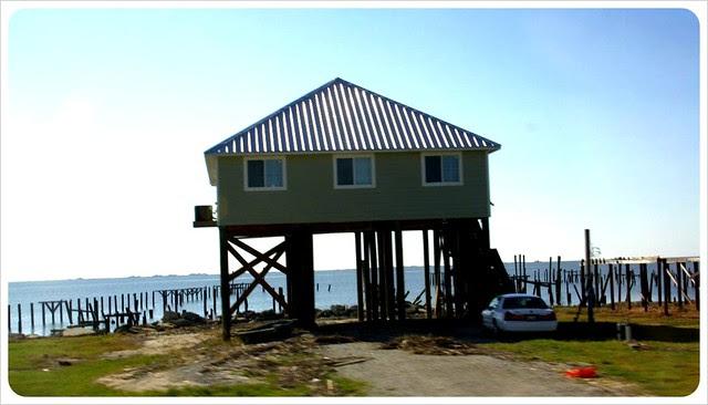louisiana house on stilts