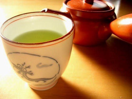 Green tea and fasting