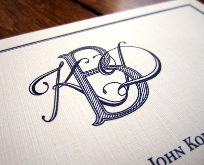 9 Creative Ways to Incorporate Your Wedding Monogram | OneWed