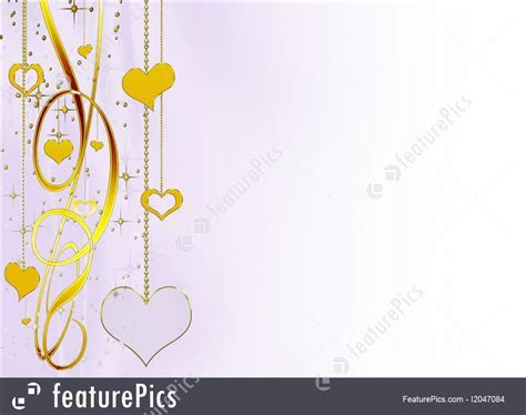 Holidays: Delicate Elegant Background With Hearts And