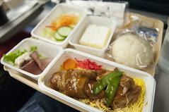 Dinner, Delta Air Lines