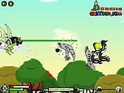 Jogar Ben 10 sky battle Jogos