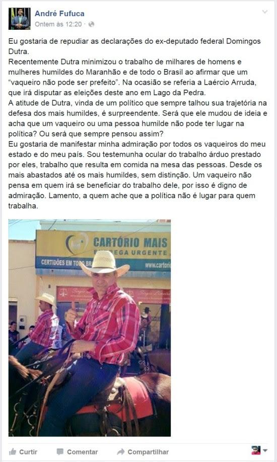André Fufuquinha - Domingos Dutra