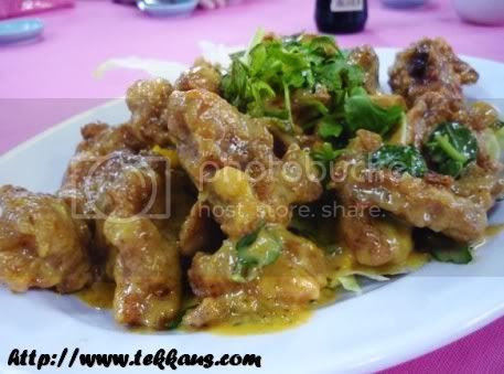 Our Reunion Dinner At Cheng Maju,Pork Ribs With Salted Eggs