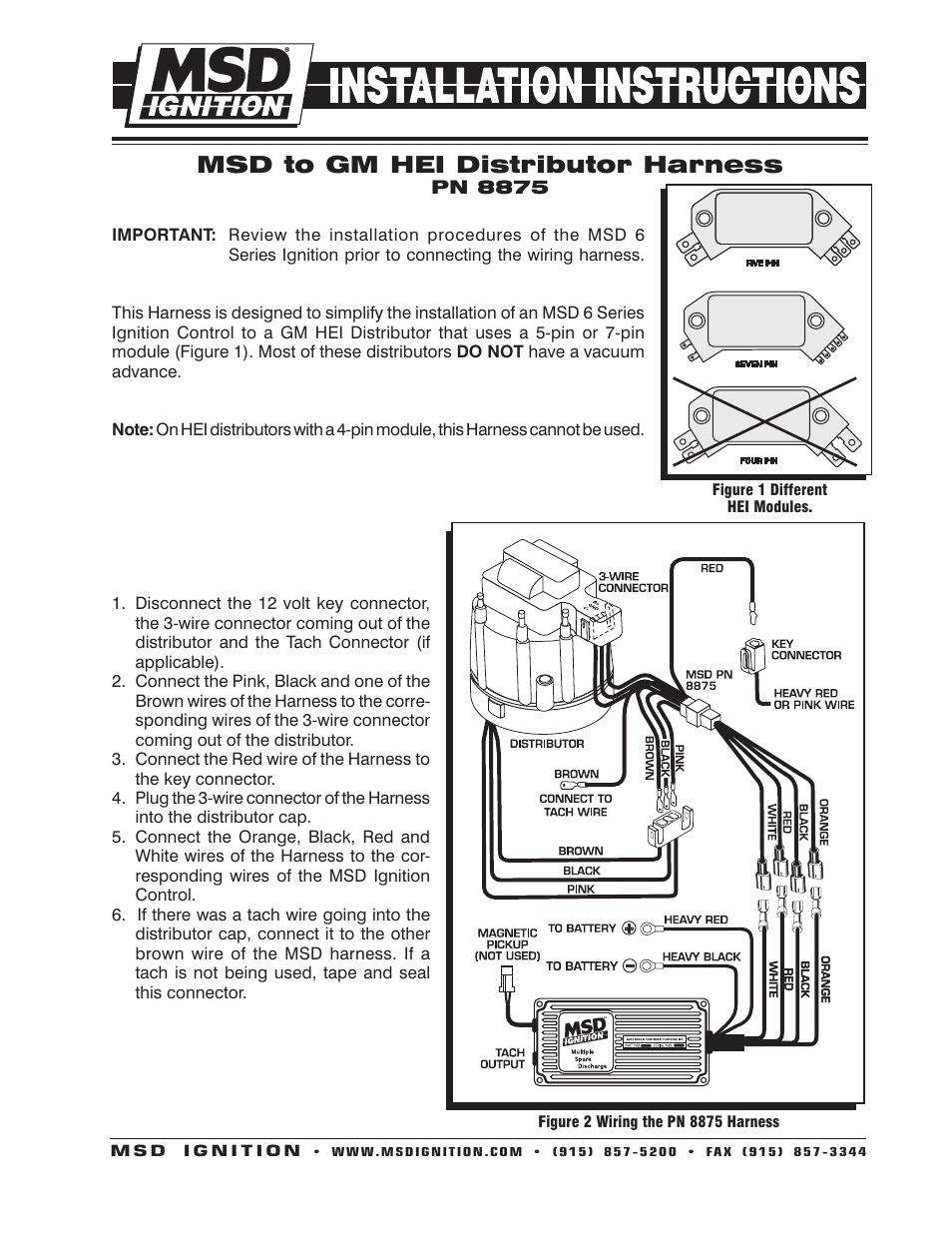 3 Wire Delco Alternator Wiring Diagram Tach Wire