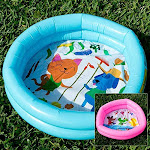 Q.j. Import Inc Mini Inflatable Duck Pond Pool
