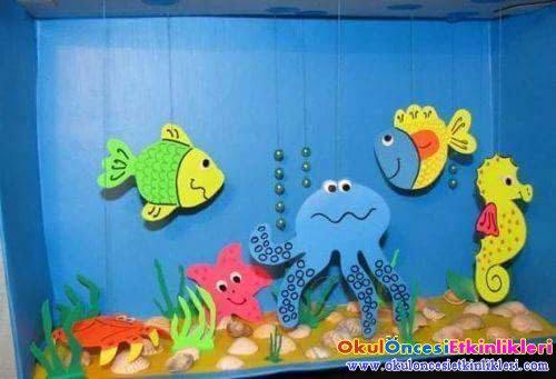 Denizi Ve Deniz Canlılarını Anlatan Etkinlikler Okul öncesi