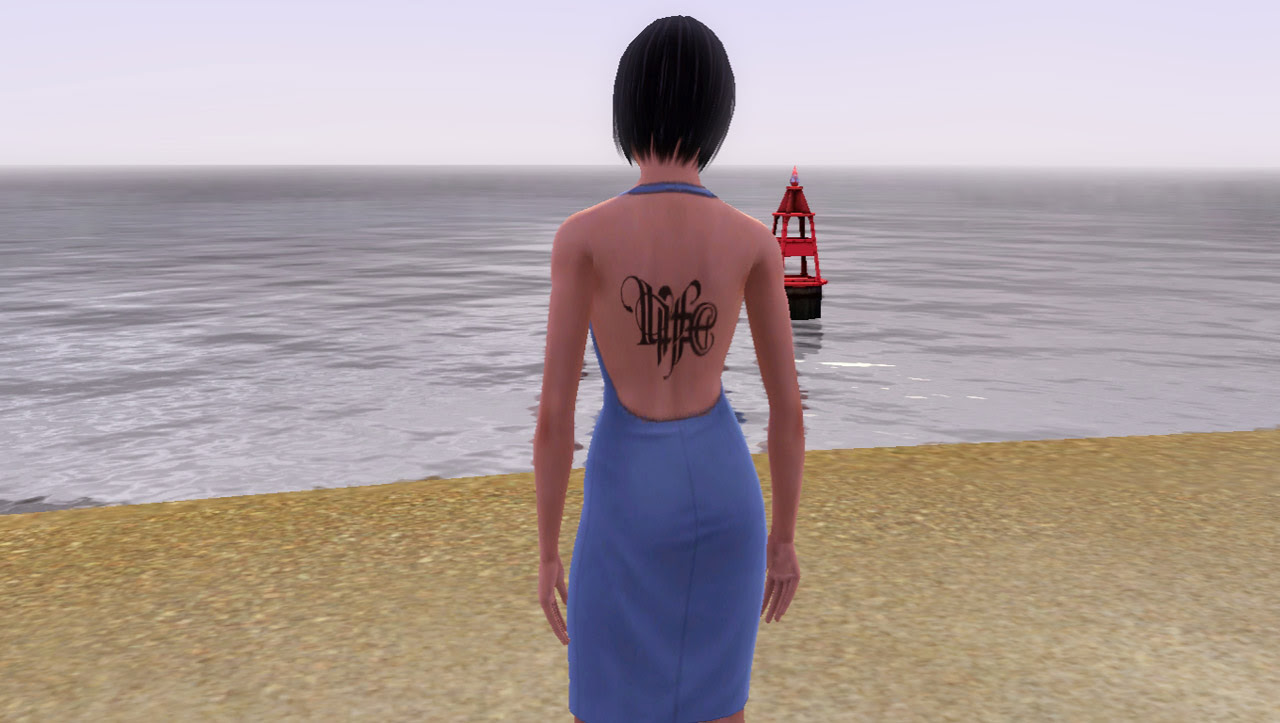 Mod The Sims The Life And Death Tattoo