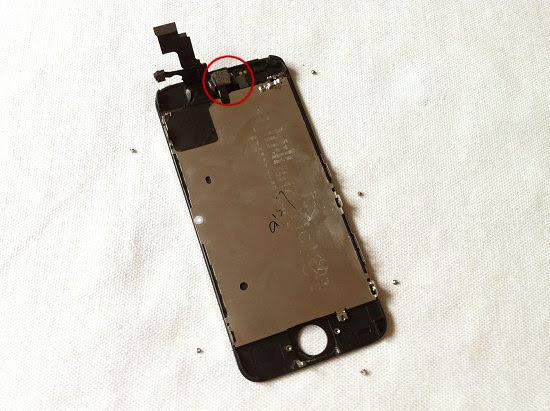 iPhone 5C disassembly stage 14