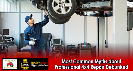 The Most Common Myths about Professional 4x4 Repair Debunked
