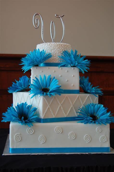 4 Tier Square/round Wedding Cake   CakeCentral.com