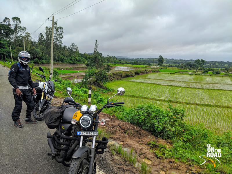 Monsoon Motorcycle Ride towards Somwarpet, Coorg